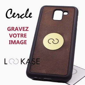 PURE CUIR CERCLE GRAVURE